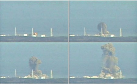 Explosin en la unidad 3 de Fukushima I.