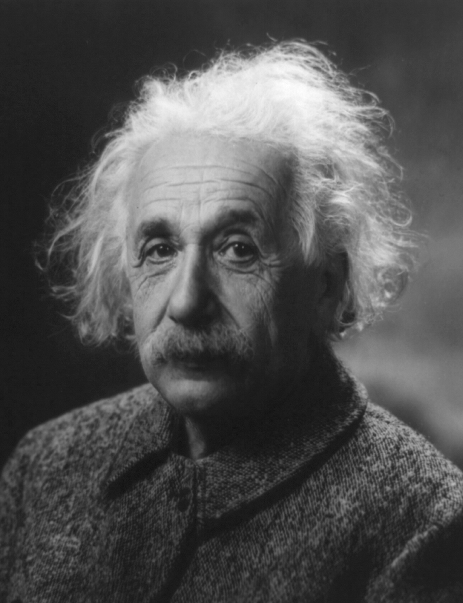 Albert Einstein, que desarroll la Teora de la Relatividad.