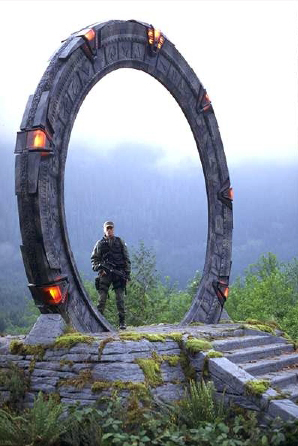 El &quot;portal&quot; de la serie de ficcin Stargate SG-1.