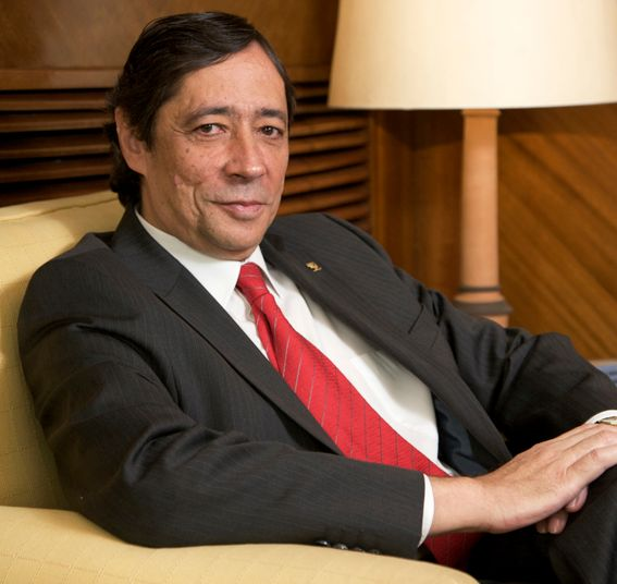 Rafael Rodrigo, astrofsico y presidente del Consejo Superior de Investigaciones Cientficas (Clic para ampliar)
